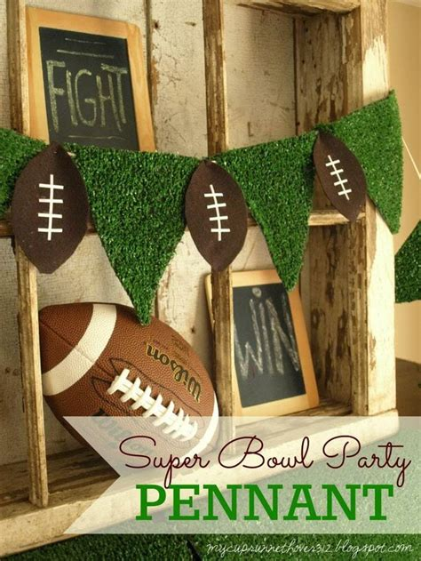 Football Decorations - bowl diy football decor mimi s dollhouse