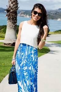 Beachwear Essential - Printed Chiffon Maxi Dress