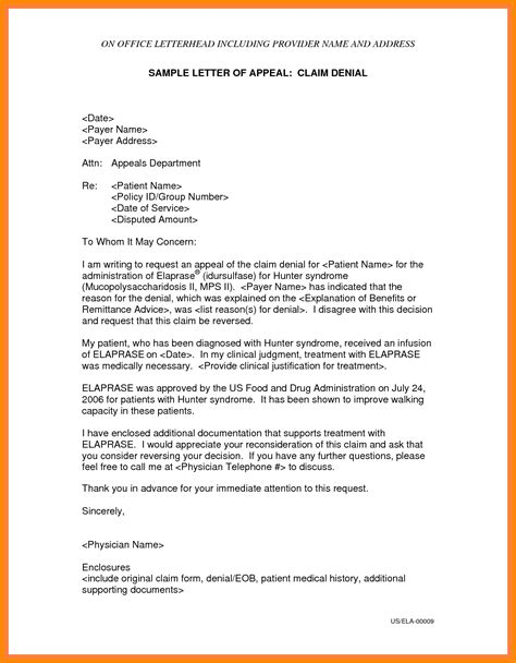sample  appeal letter  reconsideration appeal letter