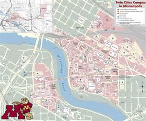 Minnesota University Campus Map