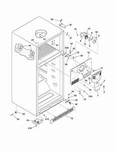 Cabinet Diagram  U0026 Parts List For Model Wrt5b1ew4 White
