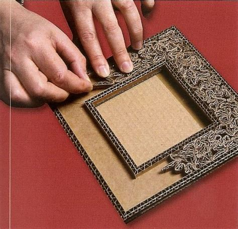 idees de cadres cartonnage tutoriel fabriquer un petit cadre en cr 233 ations en cartonnage