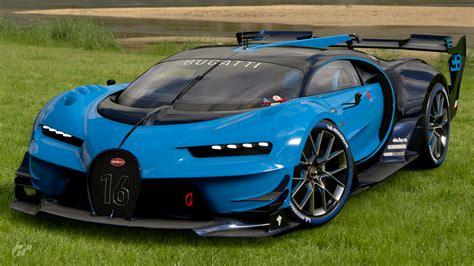 El sucesor del bugatti veyron cuenta con 1.500cv de potencia y un par motor máximo de 1.600 nm constante desde 2.000 a 6.000 revoluciones por minuto. Bugatti Vision Gran Turismo | Gran Turismo Wiki | Fandom