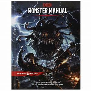 Dungeons  U0026 Dragons Monster Manual 5th Edition