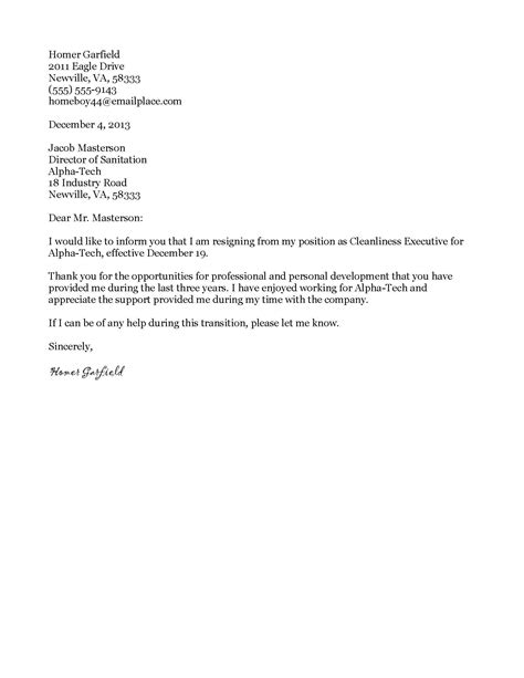 basic letters  resignation google search business