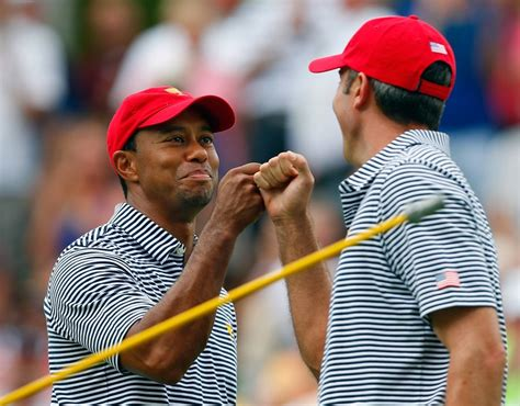 (Photo) Tiger Woods and Matt Kuchar celebrate a birdie on ...