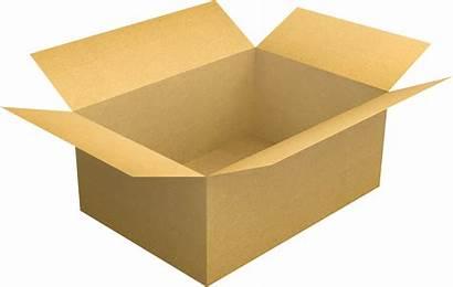 Cardboard Clipart Transparent Carton Open Paper Empty