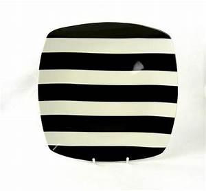 Teller Schwarz Weiß : modern designer teller quadrat schwarz weiss porzellan essteller speiseteller ebay ~ Eleganceandgraceweddings.com Haus und Dekorationen
