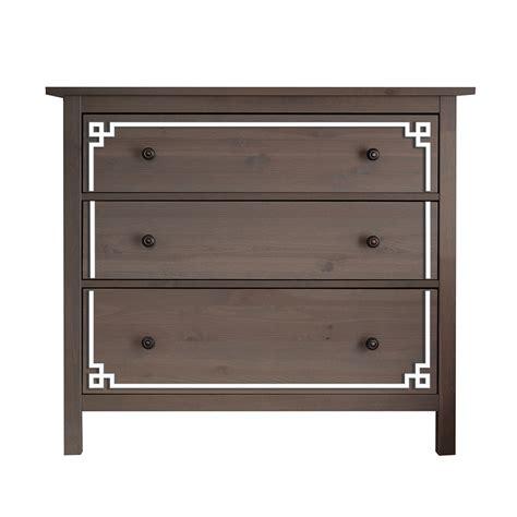 hemnes 3 drawer dresser o verlays pippa kit for ikea hemnes 3 drawer dresser