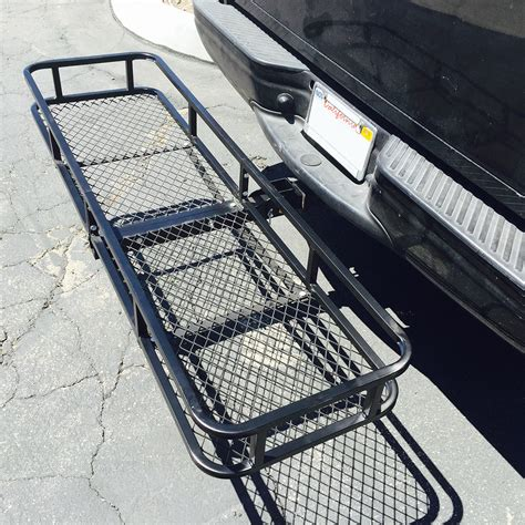 luggage rack for car large rack cargo luggage carrier basket car rear hitch