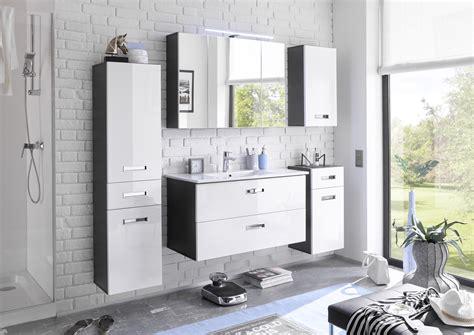 Badezimmer Set Ikea by Badezimmer Set 5 Tlg Manhattan Bega Weiss Hg Grau