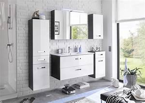 Badezimmer Fliesen Grau Weiß : badezimmer set 5 tlg manhattan von bega weiss hg grau ~ Watch28wear.com Haus und Dekorationen