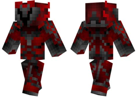 red armour minecraft skins