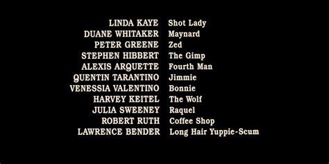 film credits 10 amazing details in credits