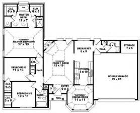 3 bedroom house plans one story bedroom 3 bedroom single story house plan one