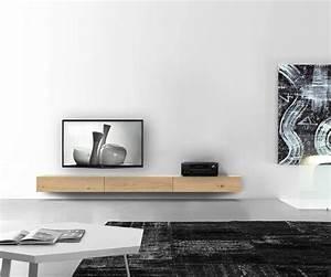 Design Tv Lowboard : holz lowboard eiche hell grau braun jetzt konfigurieren ~ Frokenaadalensverden.com Haus und Dekorationen