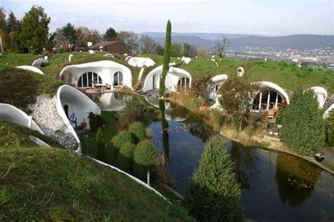 real hidden earth house oasis  switzerland