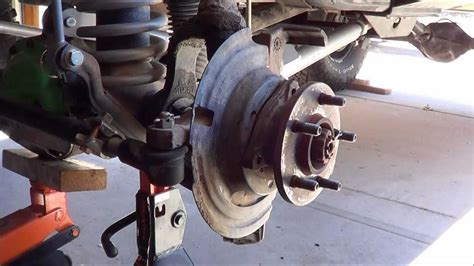 Jeep Cherokee Xj Front Wheel Hub Replacement Youtube