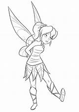 Fairy Disney Coloring Pages Fawn Neverbeast Fairies Beast Legend Tinkerbell Tinker Bell Colorkid Template sketch template