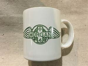 Morgan Coffee Mug With Green Logo