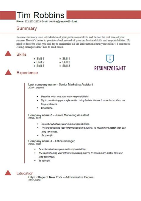 should i use a resume template ins ssrenterprises co