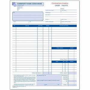 general contractor invoice designsnprint With construction contractor invoice