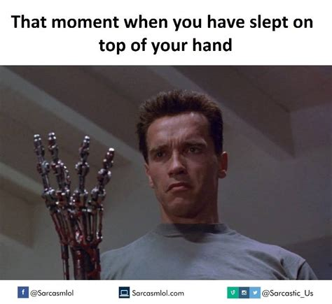 That Was Funny Meme - moment you slept on your hand funny meme funny memes