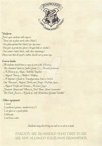 hogwarts acceptance letter english 2 2 option 2 by With hogwarts acceptance letter