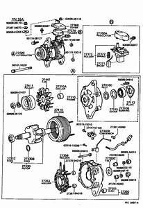 Toyota Pickup Pulley  Alternator