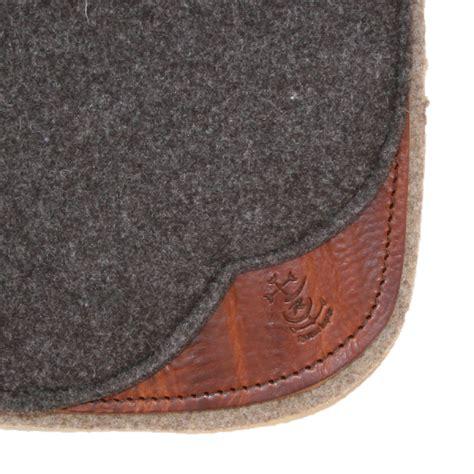 tapis selle western feutre woolrider