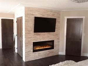 How To Light An Electric Stove Electric Fireplace And Tv Brick Wall Best Fireplace Stone