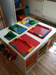 Ikea Lego Tisch Bis Einer Heult Ikea Hack Der Duplo Tisch