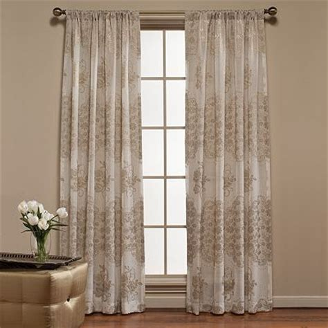 kohls sheer curtain panels kohls curtains for the home