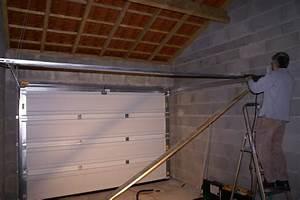fixer porte de garage basculante carrosserie auto With comment fixer une porte de garage