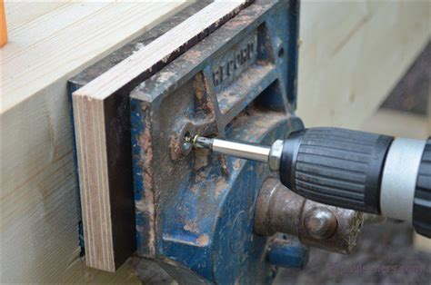 build  workbench fitting  vise part
