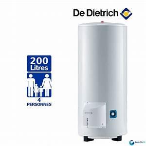 Chauffe Eau 200l Sur Socle : chauffe eau electrique 200l de dietrich cor email ths ~ Melissatoandfro.com Idées de Décoration