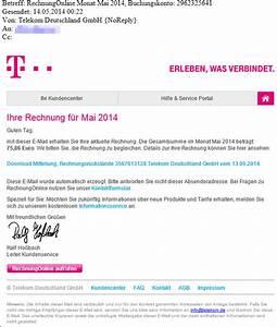Telekom Rechnung Fake : trojaner warnung telekom e mail mit dem betreff ~ Themetempest.com Abrechnung