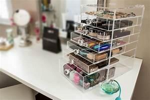 Rangement Maquillage Tiroir : le rangement maquillage en quelques id es cr atives ~ Nature-et-papiers.com Idées de Décoration