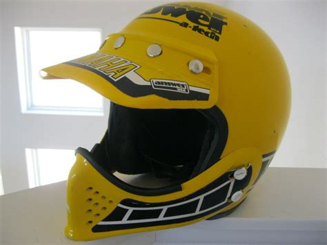 vintage motocross helmet replica and original helmets