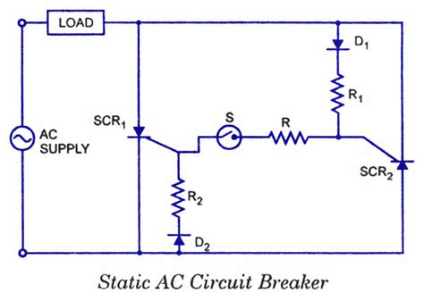 Scr Applications Electronic Circuits Diagrams