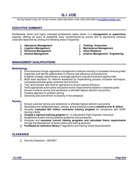 12 summary for resume exles recentresumes com