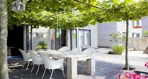 6 decorations de terrasse abritees par de la verdure With idee d amenagement exterieur 6 6 decorations de terrasse abritees par de la verdure