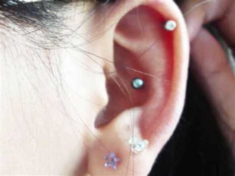 Top 8 Different Types Of Ear Piercings   Sector Definition