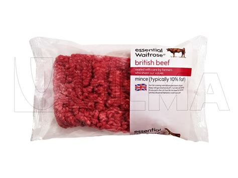 minced meat packaging  flow pack wrapper hffs  modified atmosphere map ulma packaging