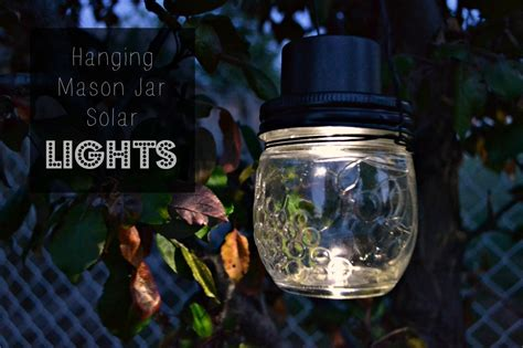 hanging jar solar lights 183 how to make a hanging