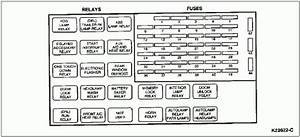 2001 Ford Windstar Fuse Panel Diagram