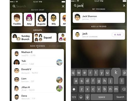 snapchat update android snapchat gets a refreshed interface and improved search