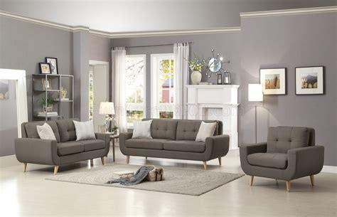 deryn sofa gy  grey fabric  homelegance woptions