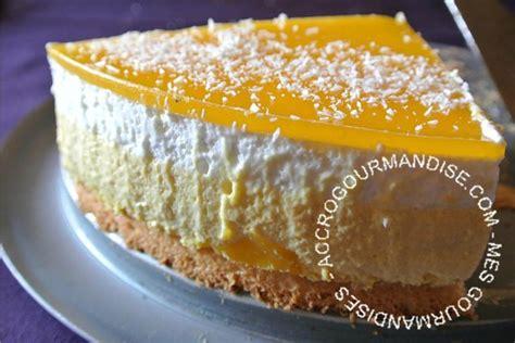 entremet mangue et noix de coco un dessert tout en douceur pour une fin de repas l 233 g 232 re