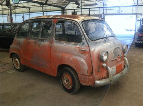 Fiat 600 Multipla For Sale by 1958 Fiat 600 Multipla Collector Microcar Station